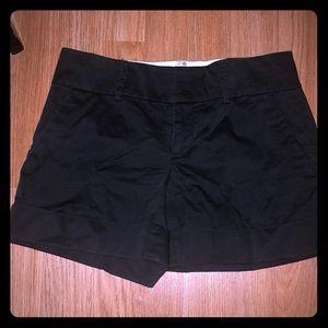 Club Monaco black cargo shorts